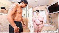 Big Tit Teen BBW Peyton Thomas Showers N Fucks