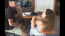 Teen feeds her girlfriend some SPERM