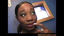 Interracial gloryhole - Amazing blowjob expert ...