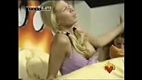 Big Brother Blonde Big Nipple Slip Oops!