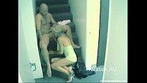 Rublevka security cam sex