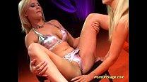 leabian porn on stage