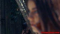 Teen cutie slammed by crazed stalker