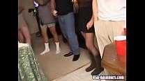 a... gangbanged gets wife cuckold american Amateur