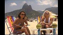 Lesbian Sisters On The Beach