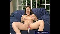 Hot Asian girl fucks the orgasmatron fucking ma...