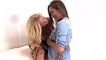 Hottie Dani Daniels Plays With Her Busty Friend