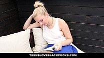TeensLoveBlackCocks - Pierced Blonde Loves Big ...