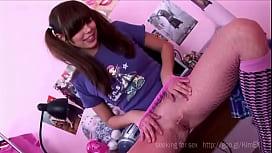 Carla Jessi Pantyhose Fishnet Tease And Masturbation #74951
