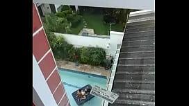 Flagrando vizinha transando voyeur brasil