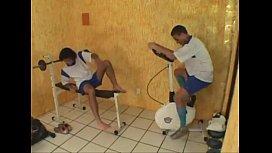 Brasileiros transando na academia