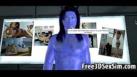 Sexy 3D Cartoon Avatar Aliens Doing The Nasty #283154