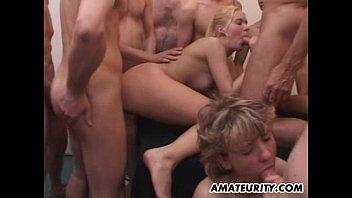 Hot slut orgy