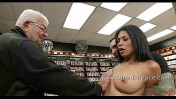 Left naked in public