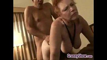 redheaded grandmother  has sex