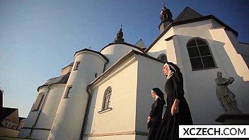 Crazy porn with cathlic nuns and mo..