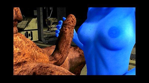 horny nurse playing with dick - anime hentai