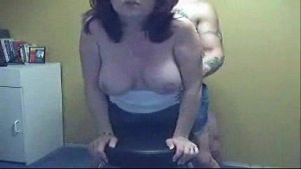 Tatuado fazendo sexo com sua mulher ruiva safada