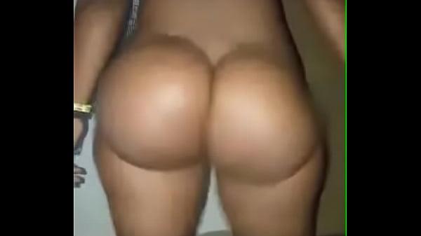 Ebony booty meat