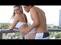 Passion-HD - Lexis Davis fucks hard cock and swallows cum