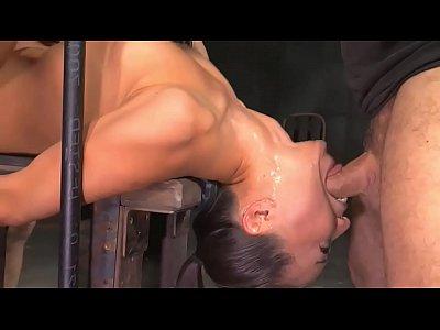 Extreme Deepthroat Bondage Fuck - more videos at sex-cams.xyz (8 min)