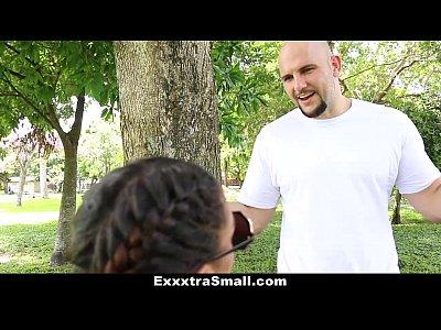 ExxxtraSmall - Petite Ebony Bounces On A Stiff Big Cock (12 min)