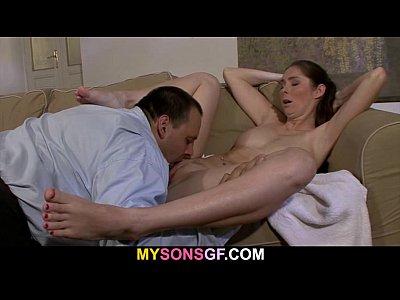 Guy Licks And Fucks Old H