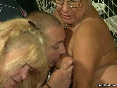 Granny Group Sex