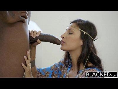 Faltaba la primera interracial para los ricos árabes chica de jade jantzen