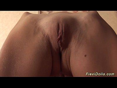 cute real flexidoll girlfriend stretching (12 min)