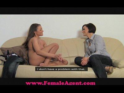 FemaleAgent All natural busty beauty (10 min)