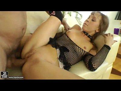 Sexy adolescente anal