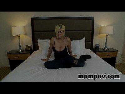 big tit blonde milf fucking in her first porno (5 min)