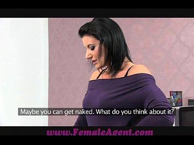 FemaleAgent Double cumshot surprise for MILF (13 min)