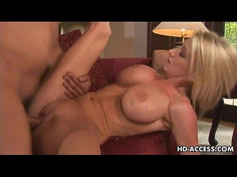 Big tits get fucked hard she