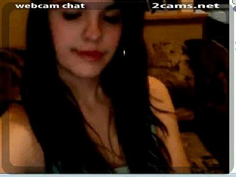 Gatinha sapeca na webcam